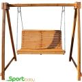 Деревянная садовая качель SportBaby Babyland-10