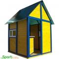 Детский игровой домик для улицы SportBaby Ельф