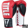 Боксерские перчатки TITLE Enforcer Official Pro Fight Gloves