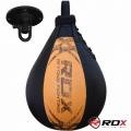 Пневмогруша боксерская RDX Leather Bearin