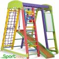 Спортивный детский уголок SportBaby Акварелька