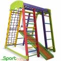 Спортивный детский уголок SportBaby Акварелька Мини