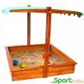 Детская песочница с крышей SportBaby Песочница-27
