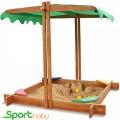 Детская песочница с крышей SportBaby Песочница-21