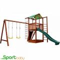 Деревянный игровой комплекс SportBaby Babyland-6