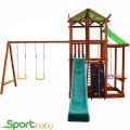 Деревянный игровой комплекс SportBaby Babyland-7