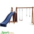 Деревянный игровой комплекс SportBaby Babyland-8