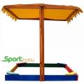 Детская песочница с крышей SportBaby Песочница-23