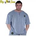 Мужская тренировочная топ-футболка BIG SAM 3123
