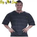 Мужская тренировочная топ-футболка BIG SAM 3124