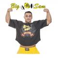 Мужская тренировочная топ-футболка BIG SAM 3144