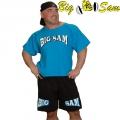 Мужская тренировочная топ-футболка BIG SAM 3104