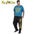 Мужская тренировочная топ-футболка BIG SAM 3133