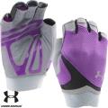 Женские перчатки для фитнеса UNDER ARMOUR UA Flux Half-Finger WG