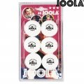 Теннисные мячи JOOLA Rossi 3 Star Balls White