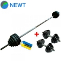Штанга наборная + гантели NEWT TI-0201-180 Ø30 мм