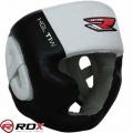 Боксерский шлем с защитой подбородка RDX Muay Thai