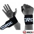 Кистевые бинты RDX Black Wrist Gym Straps