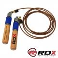 Скакалка скоростная с утяжелителями RDX Ultra 200 RPM Speed Rope