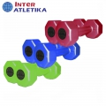 Гантели пластиковые цветные INTER ATLETIKA ST560 пара