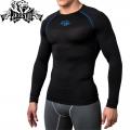 Компрессионная футболка PERESVIT Air Motion Long Sleeve Blue