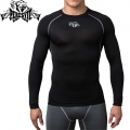 Компрессионная футболка PERESVIT Air Motion Long Sleeve Grey
