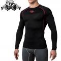Компрессионная футболка PERESVIT Air Motion Long Sleeve Red