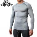 Компрессионная футболка PERESVIT Air Motion Long Sleeve Heather