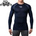 Компрессионная футболка PERESVIT Air Motion Long Navy Grey
