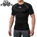 Компрессионная футболка PERESVIT Air Motion Short Sleeve Black