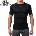 Компрессионная футболка PERESVIT Air Motion Short Sleeve Blue