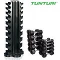 Гантельная стойка TUNTURI на 10 пар от 1 до 10 кг 14TUSCL200