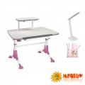 Детский стол MEALUX Pegas BD-108 с полкой BD-S50