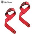 Кистевые ремни для тяги HARBINGER Padded Real Leather Lifting