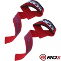 Кистевые ремни для тяги RDX Gel Pro Red пара