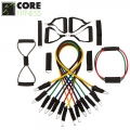 Набор амортизаторов CORE FITNESS 19 Resistance Band Set