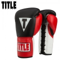 Боксерские перчатки TITLE BOXING Corrupt Pro Fighting Gloves