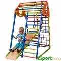 Спортивный детский комплекс для дома SportBaby KindWood Colors