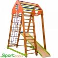 Спортивный детский комплекс для дома SportBaby BambinoWood