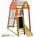 Спортивный детский комплекс для дома SportBaby BambinoWood Plus