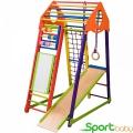 Спортивный комплекс для дома SportBaby BambinoWoodColor Plus
