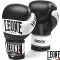 Боксерские перчатки LEONE Shock Black