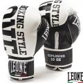 Боксерские перчатки LEONE Explosion White