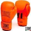 Боксерские перчатки LEONE Mono Orange