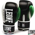 Боксерские перчатки LEONE Contender Black