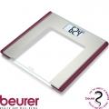 Весы дизайнерские BEURER GS170 Ruby