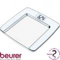 Весы дизайнерские BEURER GS490 White