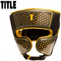 Боксерский шлем TITLE Boxing Hexicomb Tech Training Headgear