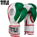 Боксерские перчатки TITLE Infused Foam El Combate Mexico Gloves