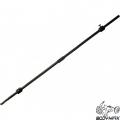 Гриф прямой для штанги с замками BODY-MAX Ф25мм 180 см